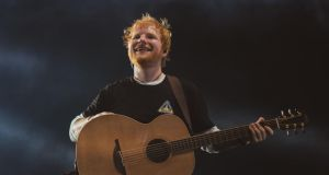 Ed Sheeran: the singer announced his retirement after ending his world tour in Ipswich. Photograph: Zakary Waters/PA
