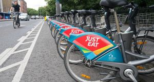 When the service began, there were just 450 bicycles at 40 stations. Photograph: Dave Meehan for The Irish Times