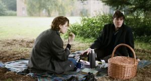 Picnic at hangdog rock: Honor Swinton-Byrne and Tom Burke in The Souvenir