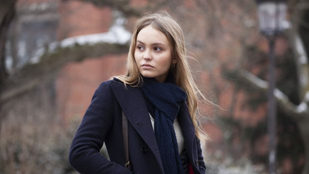 Lily-Rose Depp in A Faithful Man
