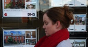 High rents are persisting even though house price affordability is improving. Photograph: Brian Lawless/PA Wire