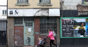 The old Manhattan Cafe on Richmond Road: once a haunt of musicians and all-night revellers. Photograph: Laura Hutton/The Irish Times