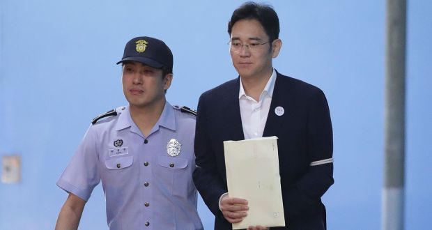 Retrial of Samsung vice chairman ordered over bribery charges