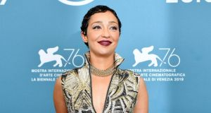Ruth Negga: the actor wore a striking jumpsuit at the premiere of Ad Astra. Photograph: Ettore Ferrari/EPA