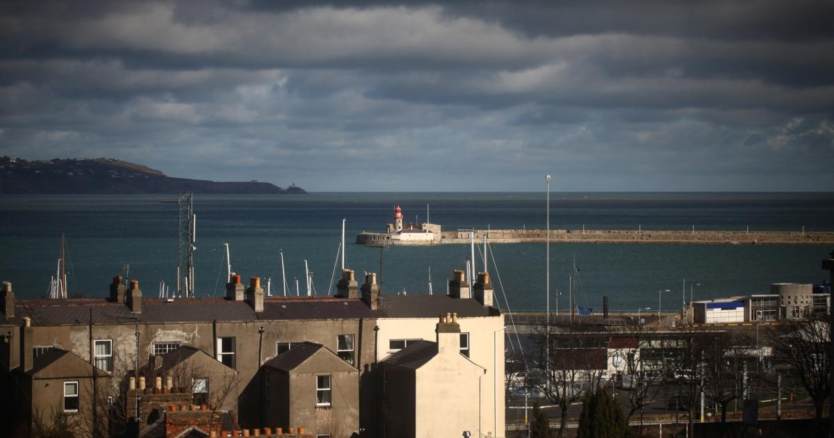 Dún Laoghaire rooftop view