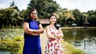 Shiok Meats co-founders Sandhya Sriram and Ka Yi Ling  in Singapore