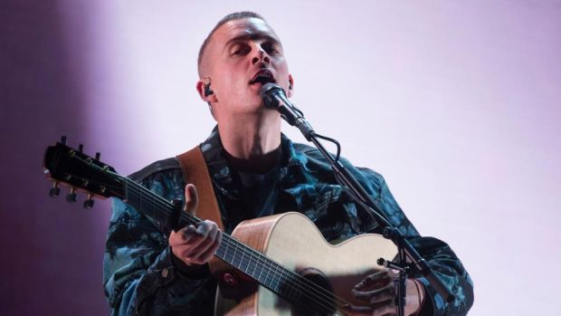 Electric Picnic 2019: Dermot Kennedy, a white-knuckled rasper in the tradition of Damien Rice and Glen Hansard. Photograph: Dave Meehan