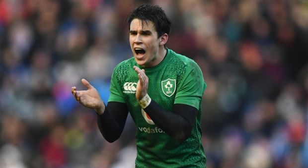 Joe Schmidt has indicated Joey Carbery could be fit for the final warm-up clash against Wales in Dublin next Saturday, and that in the worst-case scenario, the 24-year-old is in line to be ready to face Scotland in Ireland's World Cup opener. Photograph: Getty Images