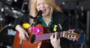 Jessica Pratt playing the Body & Soul main  stage at Electric Picnic 2019. Photograph: Dave Meehan
