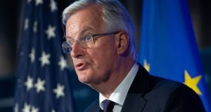 Michel Barnier: 'I am not optimistic about avoiding a no-deal scenario.' Photograph: Saul Loebsaul/AFP/Getty Images