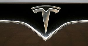 Tesla has complained in the past about the high premium paid to insure its cars. File photograph: Reuters