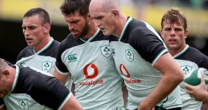 Jean Kleyn got the nod ahead of Devin Toner as a specialist tighthead secondrow. Photograph: Dan Sheridan/Inpho