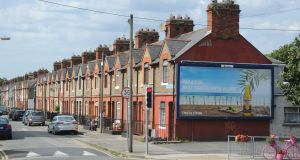 Ringsend's streets offer   a bounty of redbrick terraced  two-bed houses. Photograph: Aidan Crawley