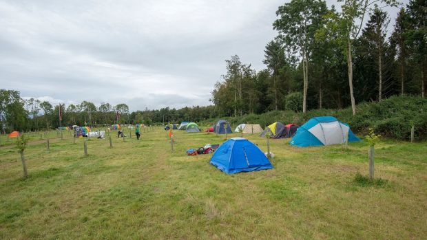 02/09/2019 .The BYEco Camping site at Electric Picnic, which is back to its pristine state already, after nearly 2,000 people stayed there over the weekend.Photograph: Dave Meehan for the Irish Times