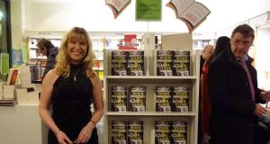 Tanya Farrelly at the launch of When Your Eyes Close