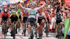 Ireland's Sam Bennett wins the third stage of the recent La Vuelta tour of Spain. Bennett's recent run of good form has ensured a strong Irish team in the elite world championship in Yorkshire. Photograph: Getty Images