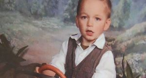 Undated family handout photo issued by the Crown Prosecution Service of Alfie Lamb (3) who was crushed to death with a car seat. Photograph: CPS/PA Wire
