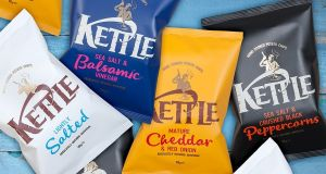 Kettle crisps: acquired by Valeo Foods for  €73 million