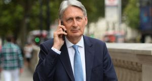 Former British chancellor of the exchequer Philip Hammond. Photograph: Kirsty O'Connor/PA Wire