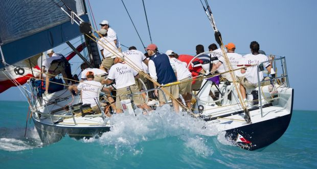 Sails force: why competitive sailors train like Olympic athletes