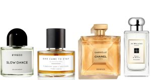 Byredo Slow Dance, Timothy Han/Edition She Came to Stay, Chanel Gabrielle and Jo Malone Poppy & Barley Cologne