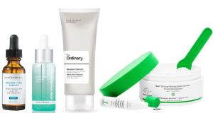 These products will help fight increased oiliness and dehydration.