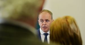 Minister for Education Joe McHugh said he wanted to help address the imbalance in the availability of Irish-medium education. Photograph: Alan Betson