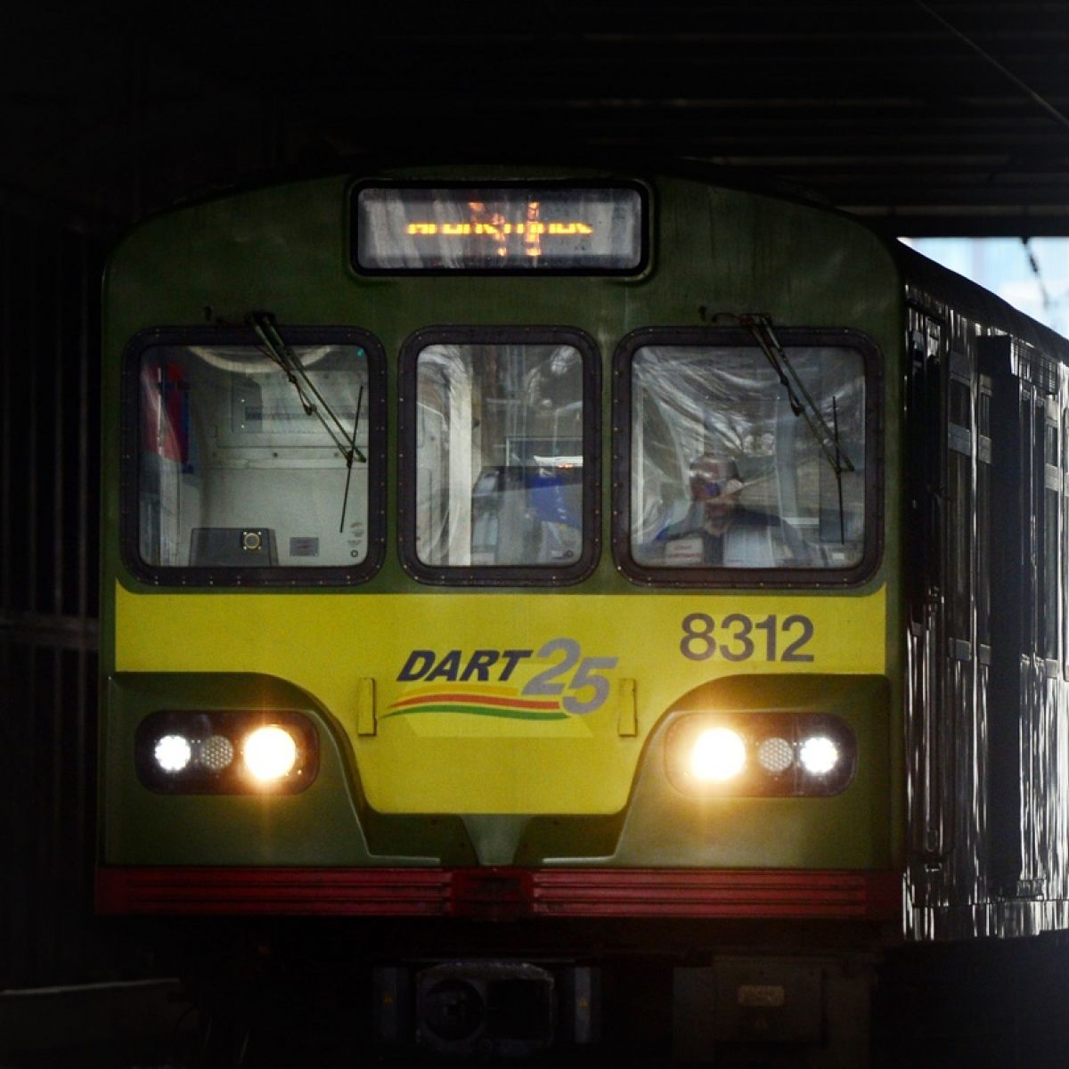 Temporary delay on Dart services as gardaí arrest passenger