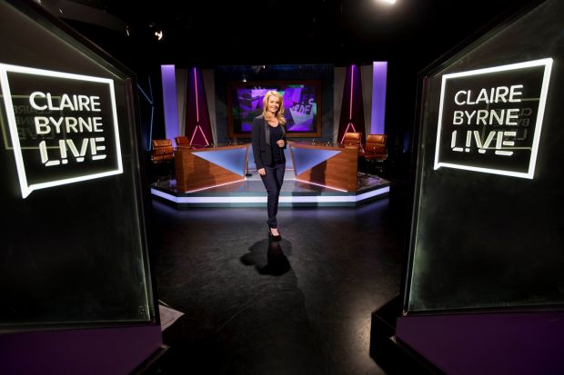Claire Byrne Live: the RTÉ show returns next week. Photograph: Andres Poveda