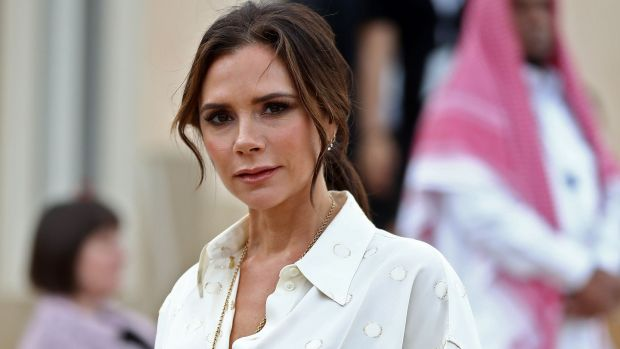 British singer and fashion designer Victoria Beckham attends the official opening ceremony for the National Museum of Qatar, Doha in March. The complex architectural form of a desert rose, found in Qatars arid desert regions, inspired the striking design of the new museum building, conceived by celebrity French architect Jean Nouvel. Photograph: KarimJaafar/AFP/Getty Images