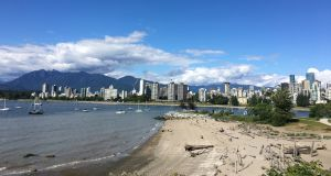 Vancouver skyline in  Canada. File photograph: Bryan O'Brien / The Irish Times