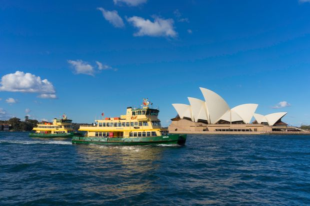 Sydney, Australia: take one of the ferries to see the famous harbour, and maybe even some dolphins. Photograph: iStock