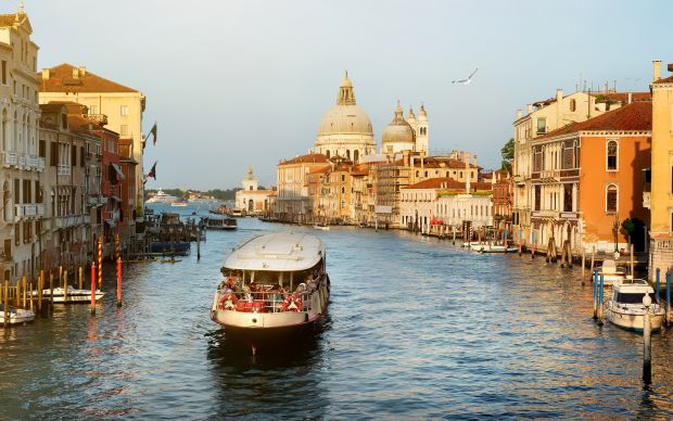 Venice, Italy: Vaporettos allow visitors to witness life along the Grand Canal. Photograph: iStock