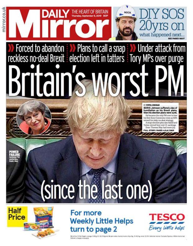 Image result for worst sun headline