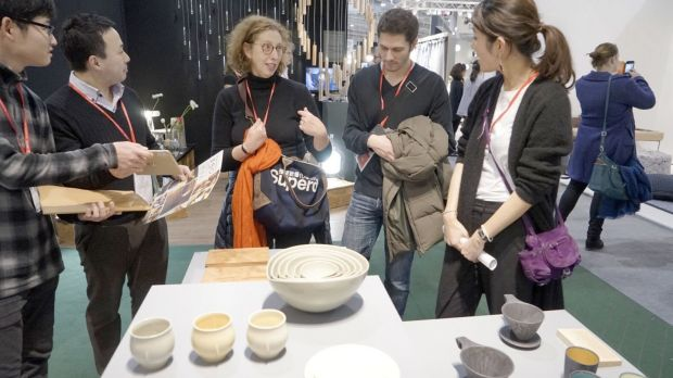 The Maison et Objet exhibition at the Parc des Expositions in Paris features 3,000 exhibitors from all over the world. Photograph: Kyodo News Stills via Getty Images