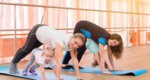 Culture Night offers the chance to try some yoga at various venues around the country. Photograph: iStock