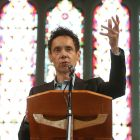 Malcolm Gladwell: His latest book tackles many diverse and 'charged' issues such as the Amanda Knox trial to the scandal of  convicted coach Larry Nassar.  Photograph: Conor McCabe Photography