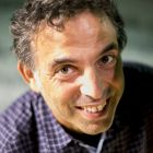 Etgar Keret uses speech to carry us along, recognising it as a kind of duet, a call and response. Photograph:  Adam Guz/Getty Images Poland/Getty Images