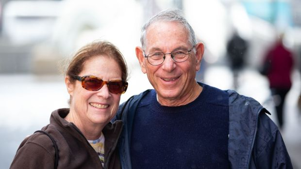 Arnold and Joanne Miller from Pittsburgh, US. Photograph: Tom Honan/The Irish Times