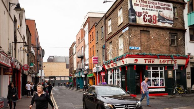 A view of Liffey Street Lower, Dublin. Photograph: Tom Honan/The Irish Times