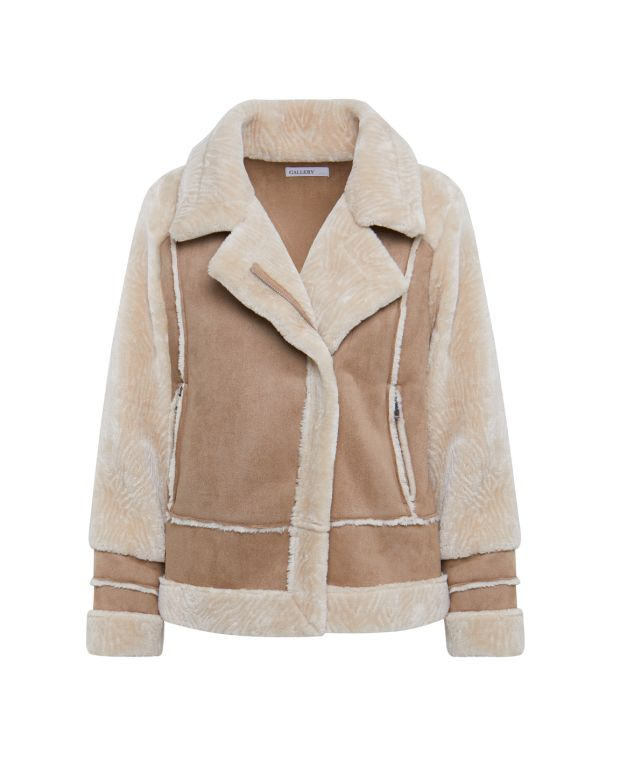 Gallery at Dunnes Stores: Aviator jacket, €50