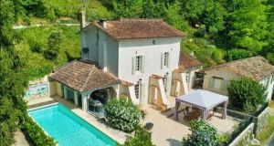 Take5: this four-bedroom house in the Dordogne comes with a swimming pool, two-bed gite and 1.2ha of land
