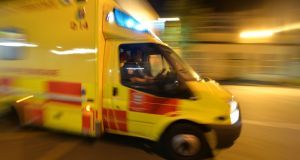 The woman was rushed by ambulance to University Hospital Kerry in Tralee but it's understood she was pronounced dead shortly after arrival. File photograph: Alan Betson/ The Irish Times