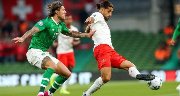 Euro 2020 qualifier: Ireland 1 Switzerland 1 - McGoldrick