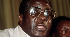 February 1980: Former Zimbabwean president Robert Mugabe,who has died aged 95. Photograph: PA Wire