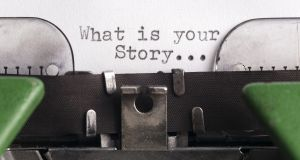 What is your story . . .? Photograph: iStock