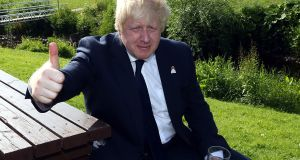 British prime minister Boris Johnson 'is a smirking dilettante who fancies himself an intellectual'. File photograph: Getty