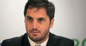 Agustin Pichot: has been a sole voice campaigning for ethical changes to the eligibility laws for several years.   Photograph: Billy Stickland/Inpho
