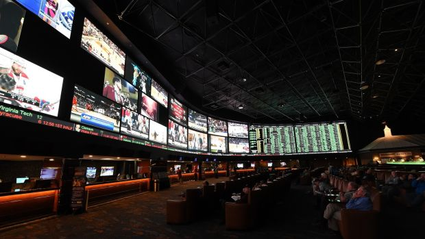 Sports betting has long been one of the main attractions in Las Vegas. Photo: Ethan Miller/Getty Images