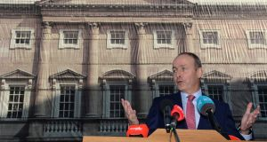 Fianna Fail leader Micheál Martin: 'In March we came within days of a crash-out Brexit for which Ireland manifestly was not prepared – something the Taoiseach admitted during Dáil questions.' File photograph: Dara Mac Donaill/The Irish Times